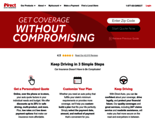 Direct General Quote Magnificent Access Directgeneraldirect Auto & Life Insurance  Get A