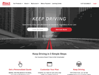 Direct General Quote Glamorous Access Directgeneraldirect Auto & Life Insurance  Get A