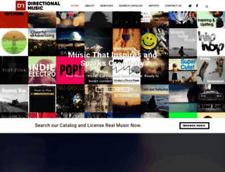 directionalmusic.com screenshot