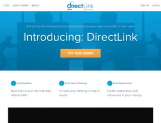 directlink.directagents.com screenshot