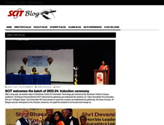 director-blog.scit.edu screenshot