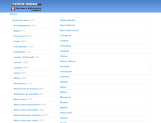 directorioempresas.mx screenshot