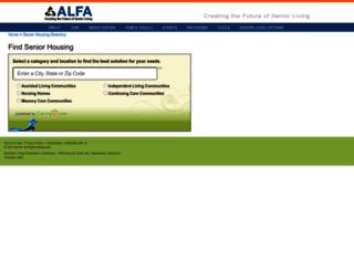 directory.alfa.org screenshot