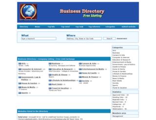 directory.codedwebmaster.com screenshot
