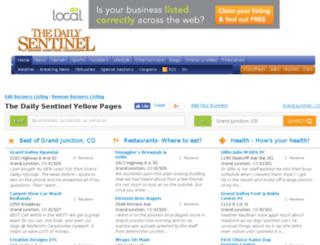 directory.gjsentinel.com screenshot