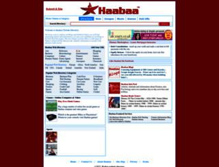 directory.haabaa.com screenshot