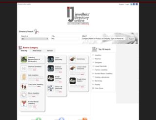 directory.indianjeweller.in screenshot