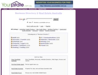 directory.yourestate.com.au screenshot