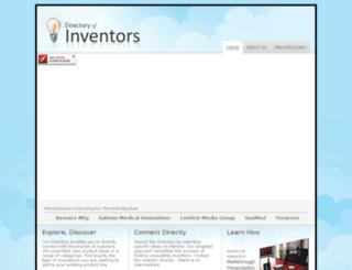 directoryofinventors.com screenshot