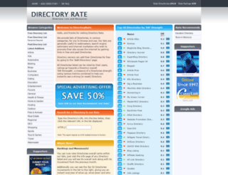 directoryrate.com screenshot