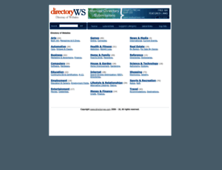 directoryws.com screenshot