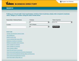 directoryyukon.com screenshot