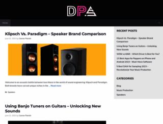directproaudio.com screenshot