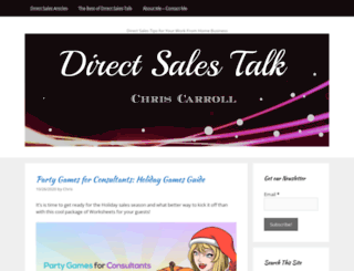 directsalestalk.com screenshot
