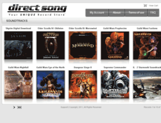 directsong.com screenshot