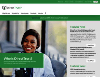directtrust.org screenshot