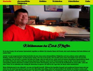 dirkpfeiffer.de screenshot