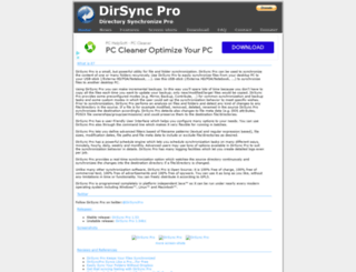 dirsyncpro.org screenshot