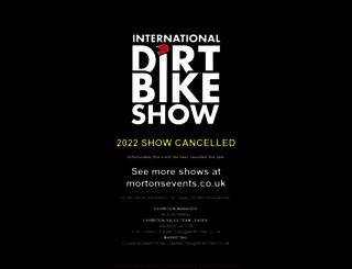 dirtbikeshow.co.uk screenshot