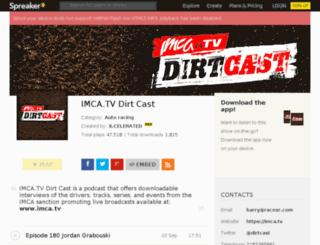 dirtcast.com screenshot