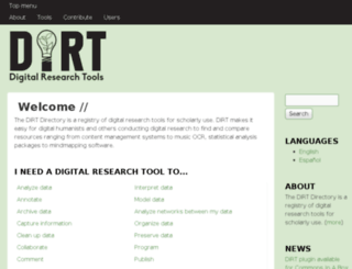 dirtdirectory.org screenshot