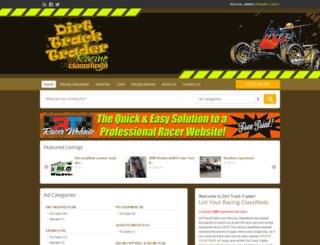dirttracktrader.com screenshot