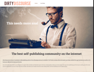 dirtydiscourse.com screenshot