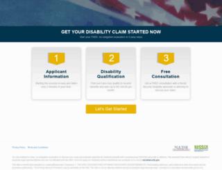disabilityapprovalhelp.com screenshot