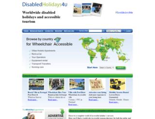 disabledholidays4u.com screenshot