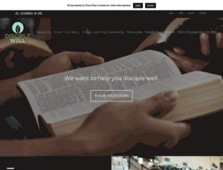 discipleship.ag.org screenshot