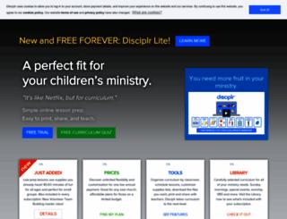disciplr.com screenshot