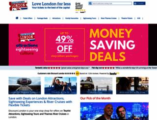 discount-london.com screenshot