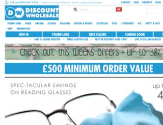 discount-wholesale.co.uk screenshot