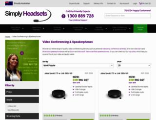 discountconferencephones.com.au screenshot