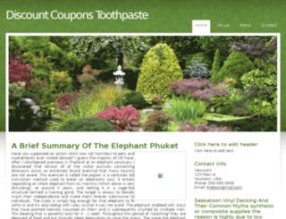 discountcouponstoothpaste.webmium.com screenshot