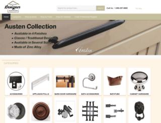 discountdesignerhardware.com screenshot