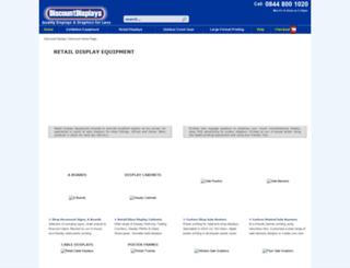 discountdisplays-checkout.co.uk screenshot