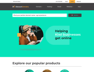 discountdomains.co.nz screenshot