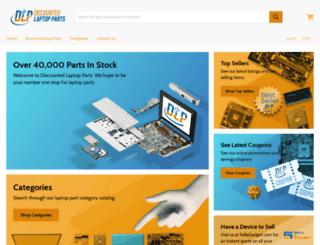 discountedlaptopparts.com screenshot