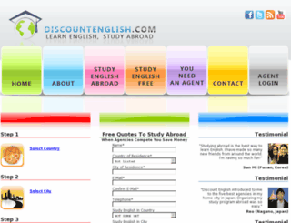 discountenglish.com screenshot