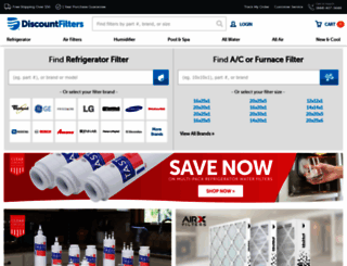 discountfilters.com screenshot