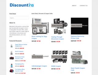 discountra.com screenshot