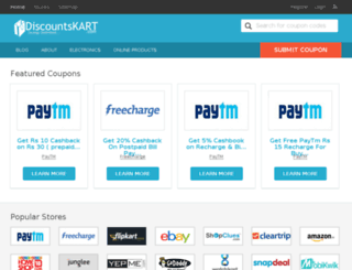 discountskart.com screenshot