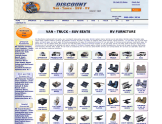 discountvantruck.com screenshot