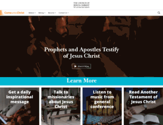 discover.mormon.org screenshot