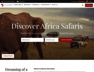 discoverafrica.com screenshot