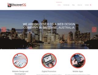 discovercg.com screenshot