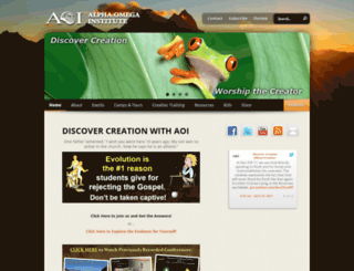 discovercreation.org screenshot