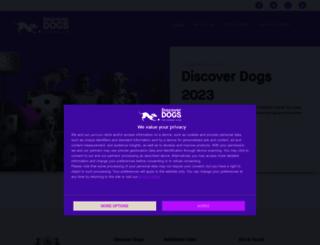 discoverdogs.org.uk screenshot