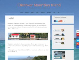 discovermauritiusisland.com screenshot